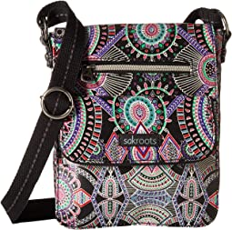 2e4fe5a5cfbe Sakroots artist circle flap crossbody mulberry treehouse patch ...