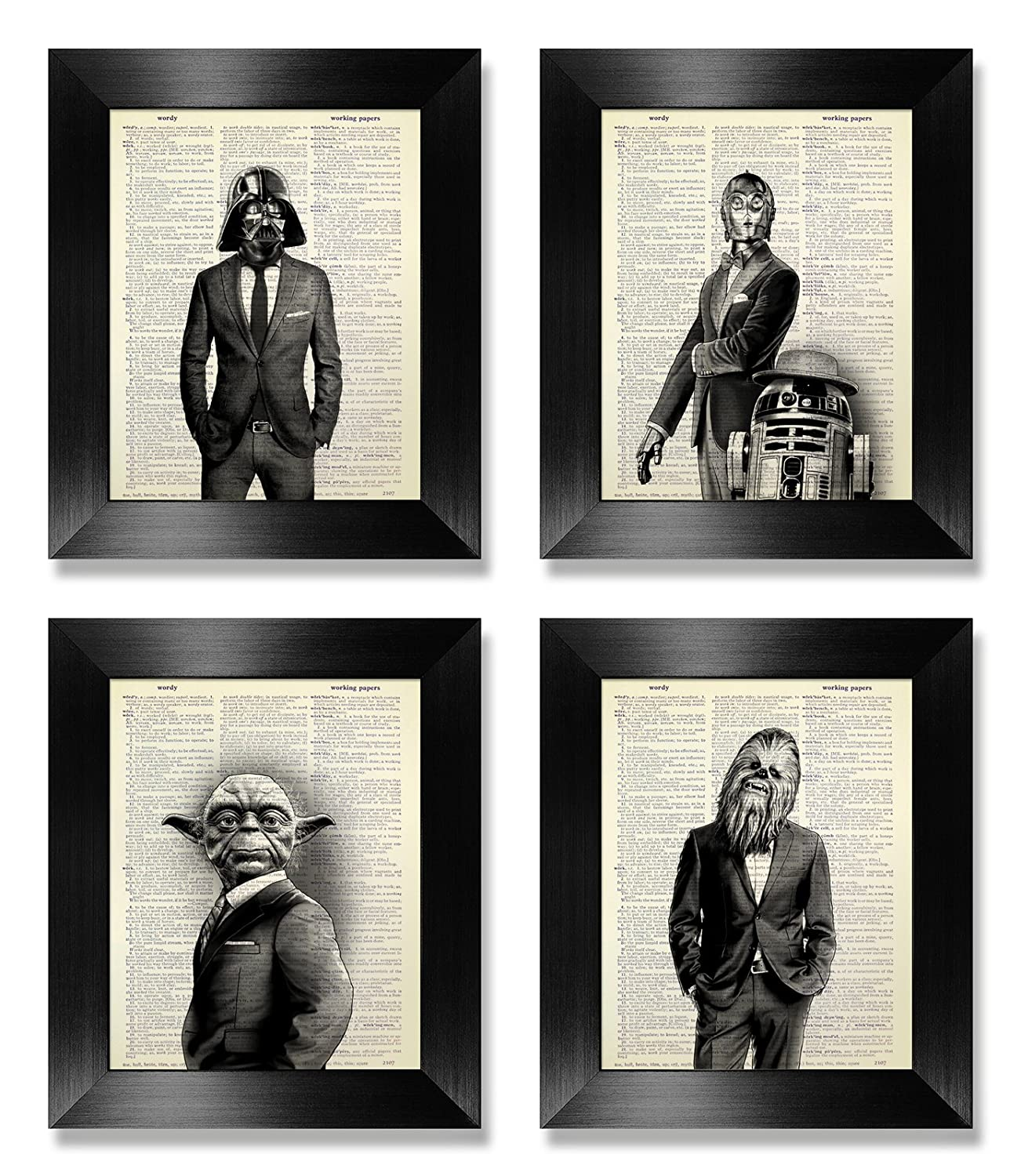 Latest item Funny Star In a popularity Wars Print Set of Wall Kids 4 Art for