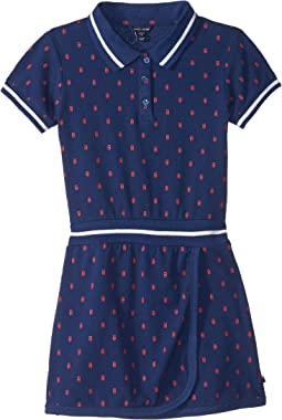 Printed Polo Dress (Big Kids)