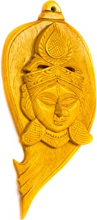 DC ECO Home Decor Unique Product Wall Decor Religious Idol Lord Durga Head (Made in India)