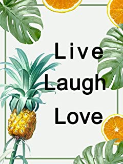 Diamond Painting 5d Kits Live Laugh Love Full Drill Round DIY Large for Adults Kids Women Home Beginner Craftology Fashion...