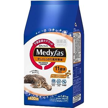 メディファス 少しでしっかり高栄養食 11歳頃から チキン&フィッシュ味 1.41kg(235gx6)