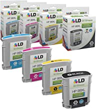 LD Remanufactured Ink Cartridge Replacements for HP 88XL High Yield (Black, Cyan, Magenta, Yellow, 4-Pack)