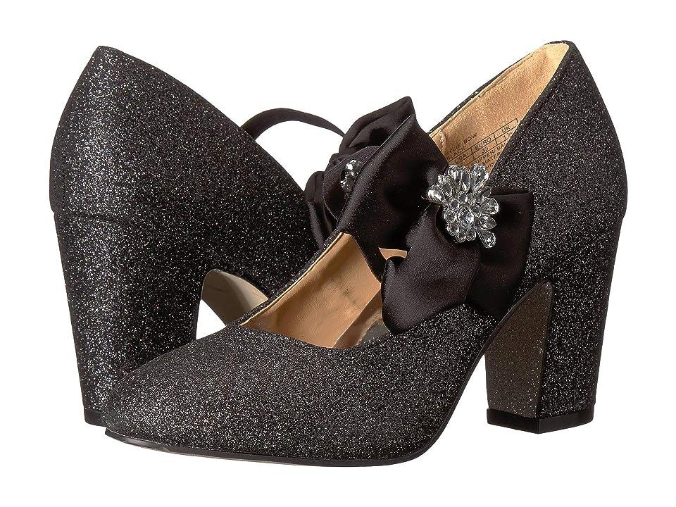 Badgley Mischka Kids Kylie Bow (Little Kid/Big Kid) (Black Multi Shimmer) Girls Shoes