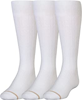 Big Girls' Knee-High Socks (Pack of Three)