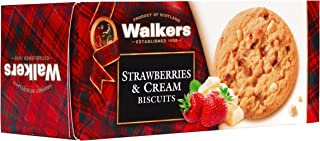 Walkers Strawberry & Cream Biscuits, 150 gm