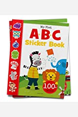 My First ABC Sticker Book: Exciting Sticker Book With 100 Stickers Paperback