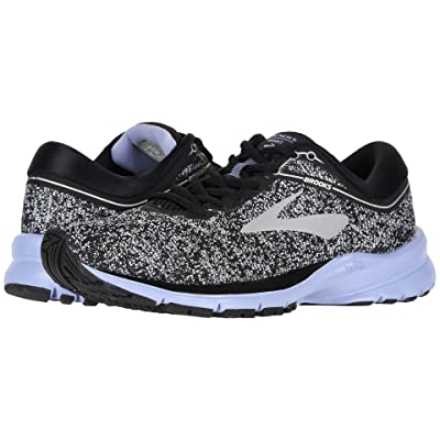 Brooks Launch 5 (Black/Silver/Thistle) Women