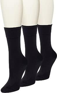 No Nonsense Women's Ultra Smooth Sock 3-Pack