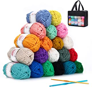 Hilo Acrílico SOLEDI lana prémium ovillos de hilo para tejerhttps://amzn.to/2Q3UQX5