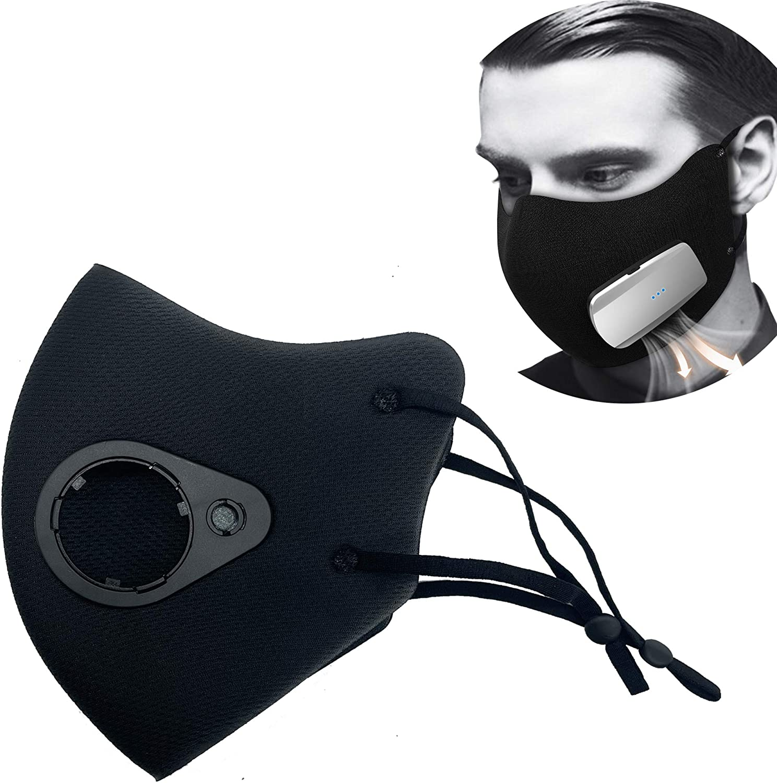 Accessories for Rsenr R12 USB Fan (Black,Ear Outer fce Shield)