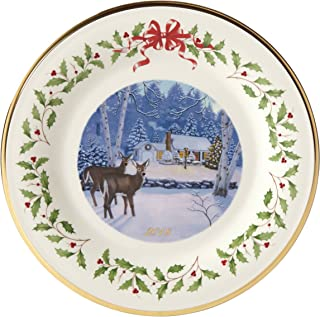 Best Lenox 2018 Holiday Plate (Outdoor Cabin Forrest) Review