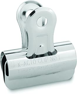 X-ACTO #1 Bulldog Clips, 1.25 Inches, Box of 36
