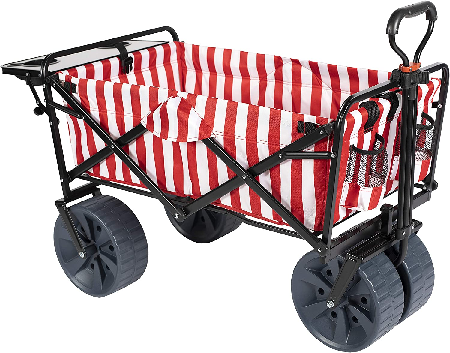 online shopping MacSports Collapsible Outdoor Folding Wagon Side Per with Table Max 53% OFF