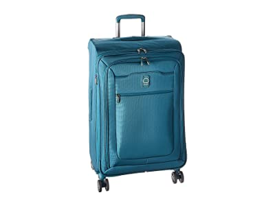 Delsey Hyperglide 25 Expandable Spinner Upright (Teal) Luggage