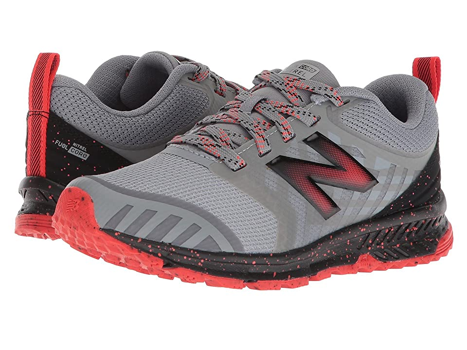 New Balance Kids FuelCore NITREL (Little Kid/Big Kid) (Steel/Flame) Boys Shoes