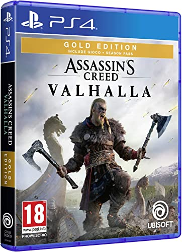 Ubi soft  creed valhalla - gold edition - ps4 300116497