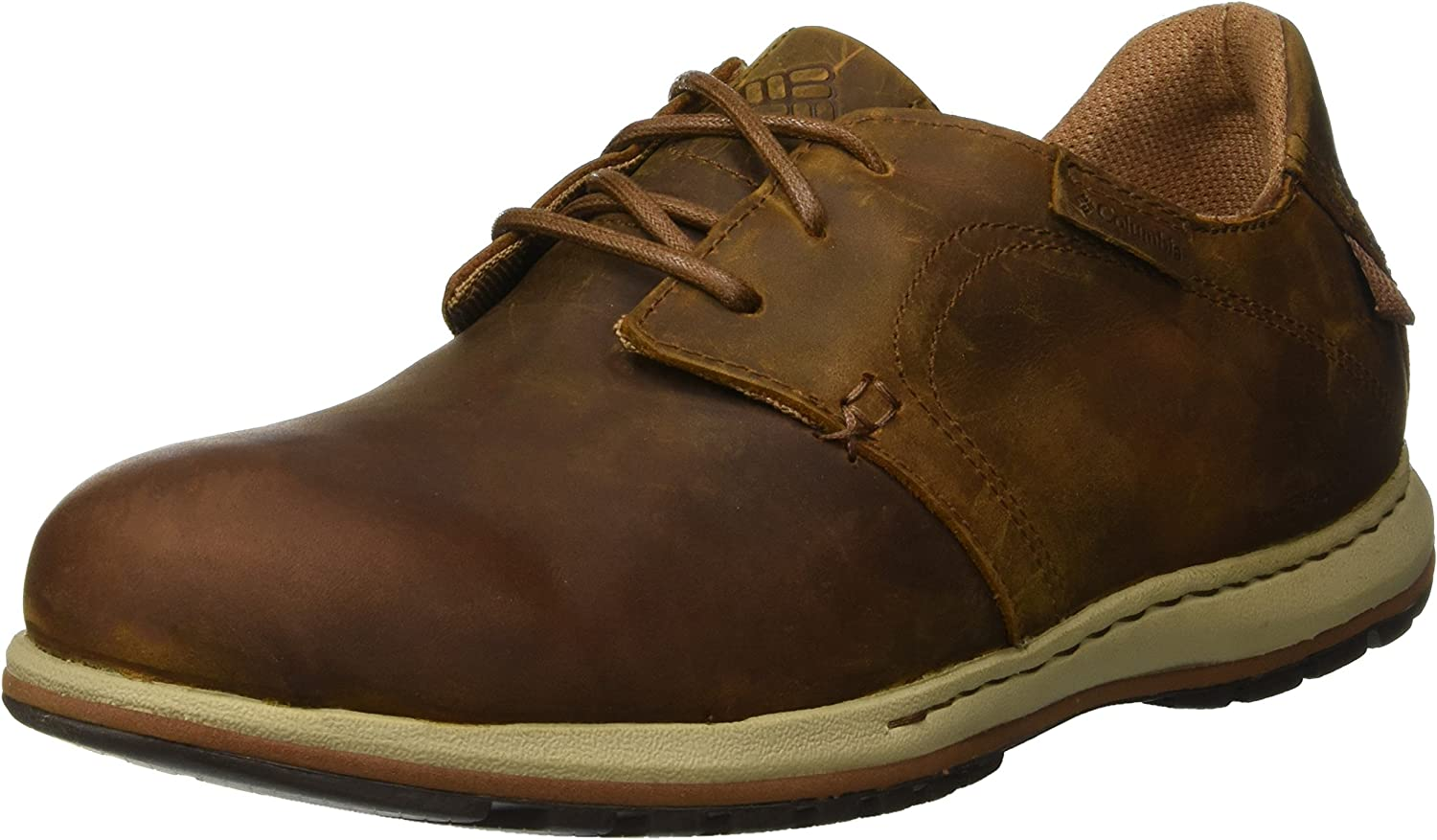 Columbia Men's Davenport Waterproof Leather Lace-up shoes