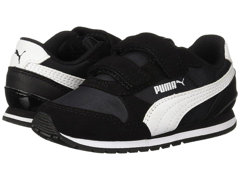 Puma Kids ST Runner v2 NL V (Toddler) (Puma Black/Puma White) Boys Shoes