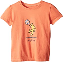 Life is Good Kids - Beach Day Crusher Tee (Toddler)