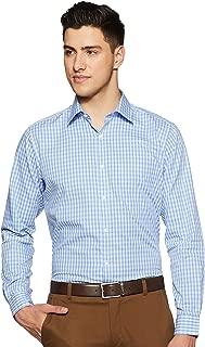 Raymond Blue Slim Fit Cotton Shirt