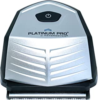 PLATINUM PRO by MANGROOMER - New Self-Haircut Kit and Advanced Hair Clippers With Lithium MAX Battery, 9 Length Guards and...