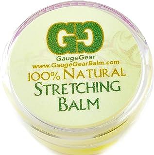 Bálsamo Gauge Gear para estiramiento de perforaciones (10 ml), usado para pendientes de