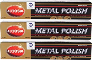 comprar comparacion Autosol Metal Polish Chrome Shine 75ml Paquete de 3