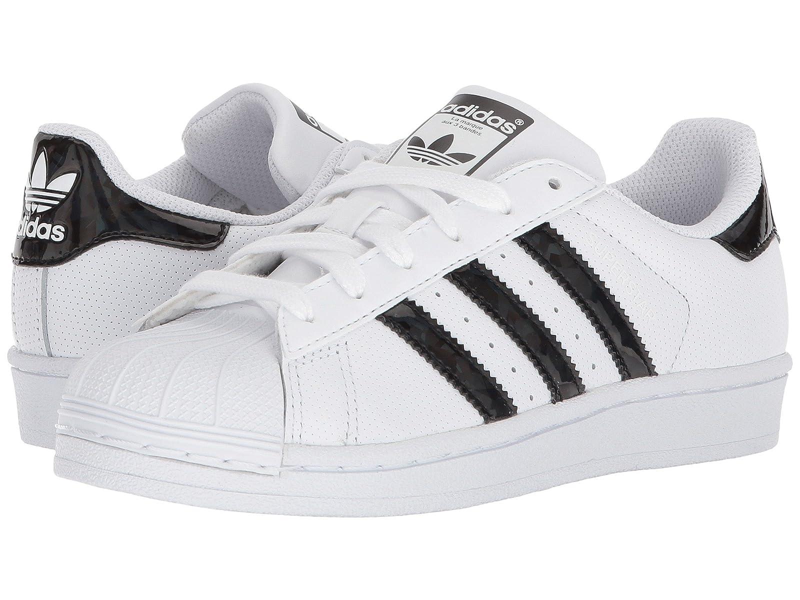 adidas Originals Kids Superstar Iridescent J (Big Kid)Atmospheric grades have affordable shoes
