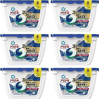 【ケース販売】 アリエール 洗濯洗剤 パワージェルボール3D 本体 18個入×6個