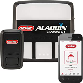Genie Aladdin Connect  Smart Garage Door Opener – Works with Amazon Alexa and Google Assistant - Monitor, Open and Close from Anywhere with Smartphone (iPhone or Android) (Renewed)
