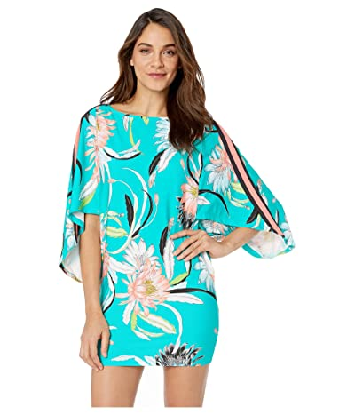 Trina Turk Shangri LA Tunic Cover-Up (Jade) Women