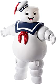 Mattel DRT51 Ghostbusters Stay Puft Marshmallow Man Balloon Ghost Figure, 6-Inch