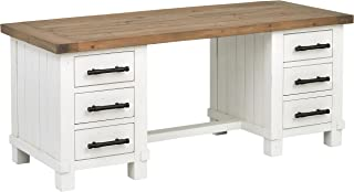 Stone & Beam Barrett Reclaimed Wood 6-Drawer Desk,  71