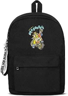 Unicorns Farting Womens Mens Anime Backpack Slim Travel Backpack for Students.