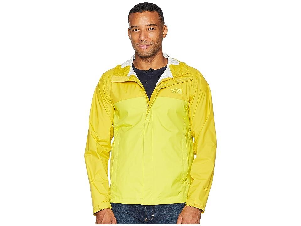 The North Face Venture 2 Jacket (Acid Yellow/Leopard Yellow) Men