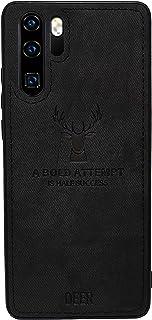 Huawei P30 Pro Digital Luxury Soft Texture Patterned TPU Cloth Protective Case, Dirt-Resistant, Anti-Shock, Anti-Fingerpri...