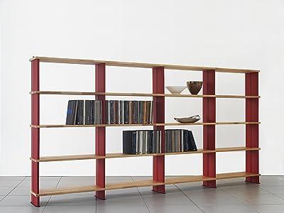 HTI-Line Regal Stack 005 B/ücherregal CD Regal Beton
