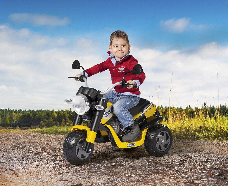 la red entera más baja Peg Peg Peg Perego Moto eléctrica con batería reCochegable de 6V Ducati Scrambler ed0920  alta calidad