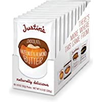 10 Pack Justin's Chocolate Hazelnut & Almond Butter Squeeze Pack 1.15oz each