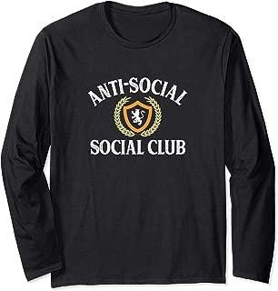 Anti-Social - Social Club - Vintage Retro Long Sleeve T-Shirt