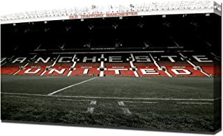 Old Trafford Man Utd 2 - Canvas Art Print