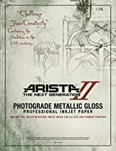 Arista II Metalic Glossy 8.5 x 11/25 sheets - 10.4mil (2443812)