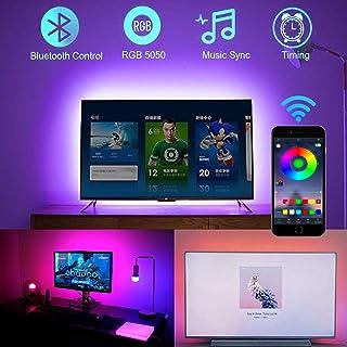 Parallax USB LED Light Strip 4M RGB 5050 Bluetooth App Control for TV Backlight Gaming Setup Decor