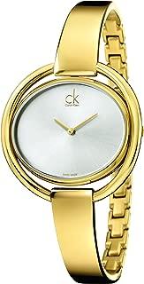 Calvin Klein Women's Quartz Watch Analogue Display Quartz Stainless Steel Coated K4F2N516