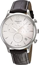 Tissot mens Tissot Tradition stainless-steel Dress Watch Brown T0636171603700