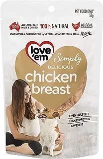 love'em Chicken Breast Dog 55g, 1 Pack