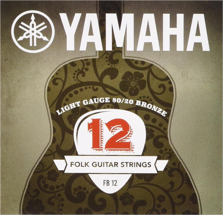 Yamaha FB12 - Juego de cuerdas para guitarra acústica