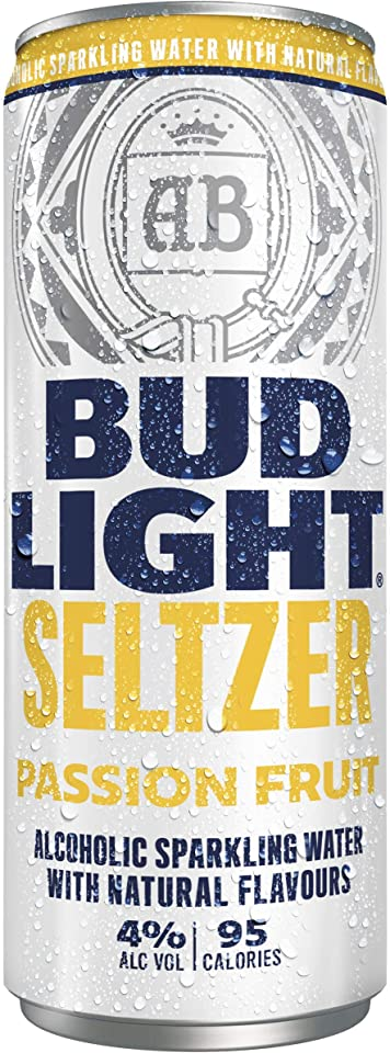 Bud Light Seltzer Passion Can, 1 x 330 ml