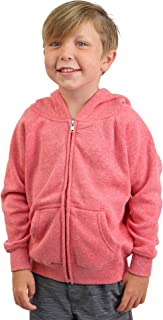 Youth Lightweight Zip Up Soft Fleece Hoodie for Boys Girls Toddlers